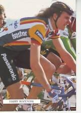 CYCLISME carte cycliste HARRY ROZENDAL équipe PANASONIC ISOSTAR 1989