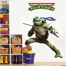 Wall Decals Leonardo Teenage Mutant Ninja Turtles Art Stickers Kids Room Decor