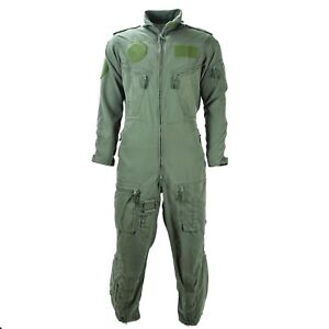 Genuine German army aramid fiber flight suit coverall pilot overall Green