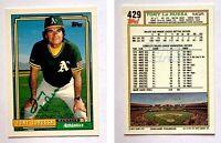 Tony LaRussa Signed 1992 O-Pee-Chee #429 Card Oakland Athletics Auto Autograph