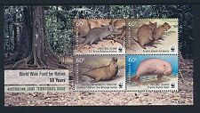 2011 Christmas Island WWF For Nature Minisheet Fine Mint MNH/MUH