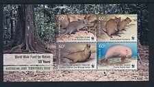 2011 Christmas Island WWF For Nature Minisheet Fine Mint MNH/MUH