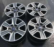 "2015-2016 Ford F150 18"" Aluminum Wheel Rims Set Of 4 OEM Hollander# 3997"