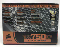 Corsair Tx750w power supply 80 Plus SLI Ready NVIDIA ***NEW***