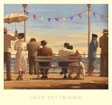 Jack Vettriano der Pier 67x72 cm Kunstdruck