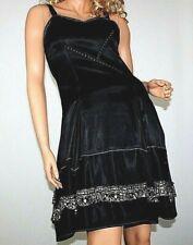MARITHE FRANCOIS GIRBAUD!  DAMENKLEID DRESS ABENDKLEID ZIPFELKLEID BLACK !
