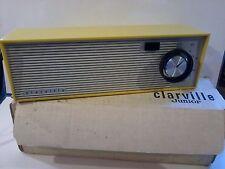 radio clarville junior 1001 vintage  1967 jaune