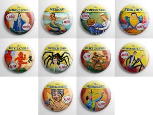 Pins Set #1 Buttons Pinbacks Fun Large Lot  Set of 67 Assorted Movie