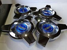 New Ford Crest 1965-1966 Mustang Wire Wheel hub cap Spinner Made in USA Set of 4