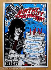 THE RAMONES-Rare Joey Ramone Birthday Original High Gloss Poster-NYC Punk Rock
