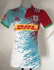Harlequins Rugby 2016/17 Player Quality Away Jersey by adidas Size 4