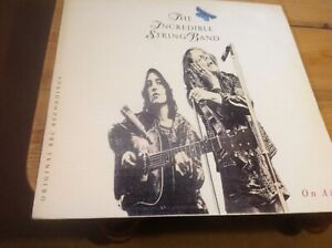 The Incredible String Band.   On Air.  Band of Joy Records. BOJLP-004