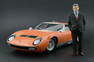 Ferruccio Lamborghini Figure for 1:18 Countach Urraco Kyosho  !! NO CAR !!