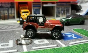Jeep CJ7 Keyring , Keychain, Key Fob