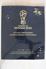 More details for 2018 fifa world cup vip tournament programme + (2018 world cup final programme)