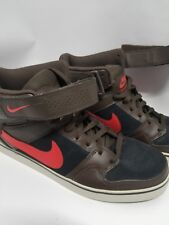 online store b669d 4d543 5 Nike Mogan 2 Mid OMS Shoes Brown Black Maize red