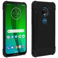 Defender II Series Protection Case Motorola Moto G7 / G7 Plus - Drop proof Black