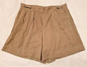 Original WW2 British Army 8th Army North Africa Desert Rats Khaki Drill Shorts 1