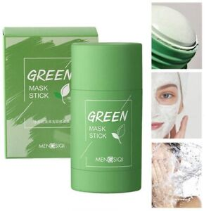 Green Tea Mask Face Beauty Skin Moisturizing Blackhead Removal Purifying Stick
