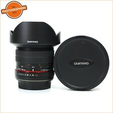 Samyang 14 mm f2.8 ED AS IF UMC Lens-Canon Fit Free UK POST