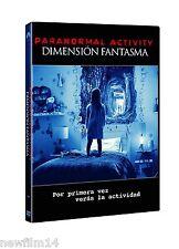 PARANORMAL ACTIVITY DIMENSION FANTASMA DVD NUEVO ( SIN ABRIR )
