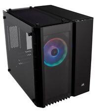 Corsair Crystal Series 280X RGB LED Micro-ATX Glass Gaming Cube PC Case Black