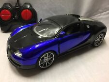 1:16 RC Emulation Car Remote Control Lights Boys Rechargeable Kids Toy Red Blue