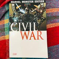 MARVEL MONSTER EDITION 20 CIVIL WAR 3 Avengers Panini