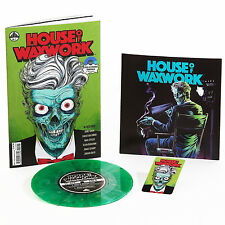 House Of Waxwork Issue 1 Comic & Vinyl Occult Slumber Party Green New & Sealed