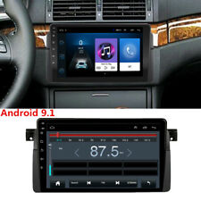 9inch Android 9.1 Car Stereo Radio GPS Navigation MP5 For BMW E46 Sedan Coupe M3