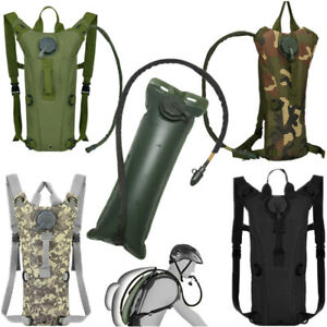 3L Water Bladder Bag Hydration Backpack Pack Hiking Camping Cycling Outdoor USA