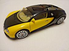 1/18 AutoArt Bugatti Veyron 16.4 Show Car Low #728 Black/Yellow