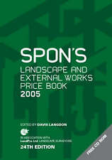 Spon's Landscape and External Works Price Book 2005 : Free Cdrom