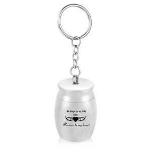 Mini Urns Pet Ashes Jar Keepsake Memorial Pendant DIY Keychain Jewelry Hanging