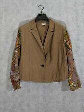 Dries Van Noten Line Silk Blend Floral Sequin Embroidered Beaded Jacket 40...