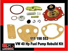 VW FUEL PUMP REPAIR KIT 40 Hp with screw inlet 111 198 553 from Radke