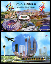 MALAYSIA 50 RINGGIT 1998 POLYMER P 45 COMM. UNC WITH FOLDER