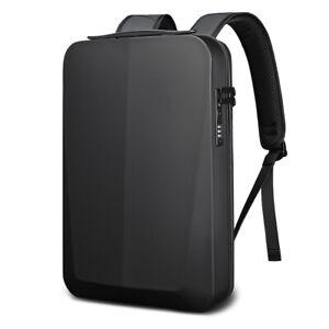 Laptop Rucksack Herren Damen Schwarz Business Backpack Reisen Freizeit Arbeit
