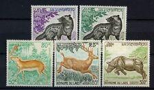 Laos 1971 SG#331-335 Wild Animals MNH Set #D58973