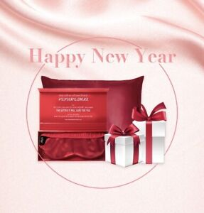 Slip Pure Silk Queen Pillowcase Red Limited Edition