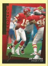 1994 Upper Deck Football Joe Montana Passing Predictor League Leaders Prizes R4