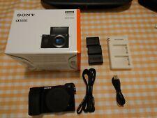 Sony Alpha a6100 24.2MP Mirrorless Camera - Black (Body Only)