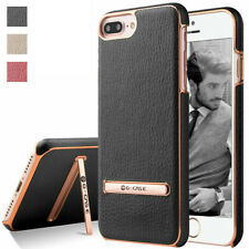 Black The Grafu Shockproof PU Leather Wallet Cover for iPhone 6 Plus//iPhone 6S Plus iPhone 6 Plus//iPhone 6S Plus Case Multifunctions Book Style Case with Soft TPU Bumper Case