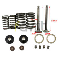 VALVE ASSEMBLY SET INTAKE EXHUAST FOR YERF DOG SPIDERBOX GX150 150CC GO KART