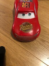 Disney Cars Large Lightening McQueen Moving Eyes light And Sounds 14 Inch. UK