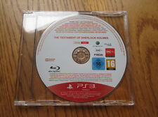 Le Testament de Sherlock Holmes PROMO – PS3 (promotional Game) Playstation 3