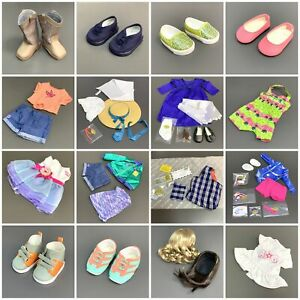 Lots 18'' American Girl Clothes Dress Shoes Truly Me Accessory For Doll Only Toy