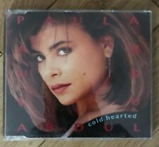 """PAULA ABDUL """"COLD HEARTED SNAKE"""" CD SINGLE WITH REMIXES 1988"""