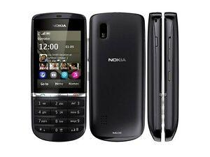 NOKIA Asha 300  Black 3G Unlocked Touch  5MP Camera Phone Israel Hebrew Option