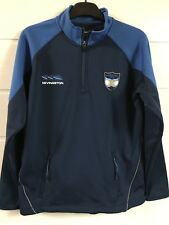 Polo Rugby manches longues Bleu Marine Kevingston Argentine 16 ans - Tbe